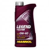 Mannol Legend+Ester 0W-40 Моторное масло