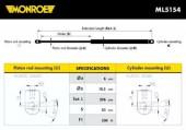 Monroe ML5154 Амортизатор багажника