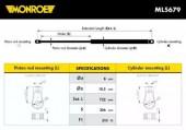 Monroe ML5679 Амортизатор багажника