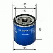 Bosch 0 451 103 093 фильтр масляный