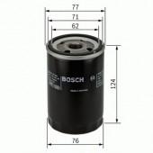 Bosch 0 451 103 259 фильтр масляный