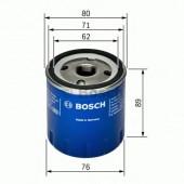 Bosch 0 451 103 261 фильтр масляный
