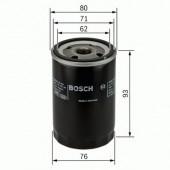 Bosch 0 451 103 337 фильтр масляный