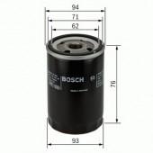 Bosch 0 451 103 341 фильтр масляный