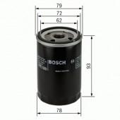 Bosch 0 451 103 363 фильтр масляный