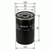 Bosch 0 451 103 365 фильтр масляный