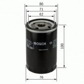 Bosch 0 451 103 367 фильтр масляный