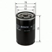 Bosch 0 451 103 370 фильтр масляный