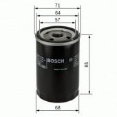 Bosch 0 451 103 372 фильтр масляный