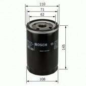 Bosch 0 451 203 201 фильтр масляный
