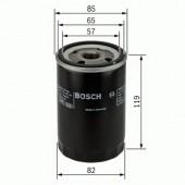Bosch 0 986 452 000 фильтр масляный