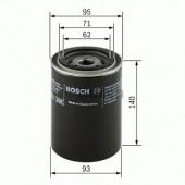 Bosch 0 986 452 001 фильтр масляный