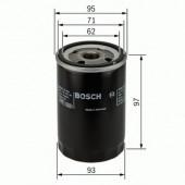 Bosch 0 986 452 003 фильтр масляный