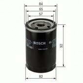 Bosch 0 986 452 015 фильтр масляный