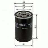 Bosch 0 986 452 023 фильтр масляный