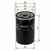 Bosch 0 986 452 028 фильтр масляный