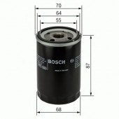 Bosch 0 986 452 041 фильтр масляный