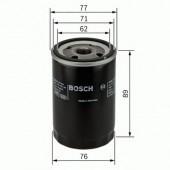 Bosch 0 986 452 044 фильтр масляный