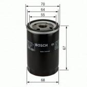 Bosch 0 986 452 058 фильтр масляный