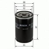 Bosch 0 986 452 060 фильтр масляный