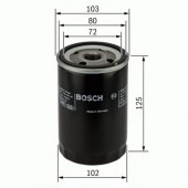 Bosch 0 986 452 062 фильтр масляный