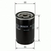 Bosch F 026 407 001 фильтр масляный