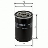 Bosch F 026 407 017 фильтр масляный