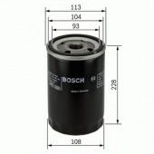 Bosch F 026 407 048 фильтр масляный