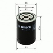 Bosch F 026 407 057 фильтр масляный