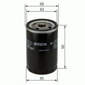 Bosch F 026 407 089 фильтр масляный