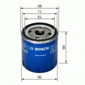 Bosch F 026 407 106 фильтр масляный