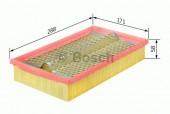 Bosch 1 457 429 875 фильтр воздушный