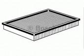 Bosch 1 457 433 091 фильтр воздушный