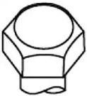 Payen HBS008 Болты головки блока комплект Payen