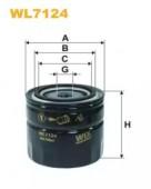 Wix WL7124 Фильтр масляный (OP 568)