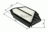 Bosch 1 457 433 970 фильтр воздушный
