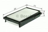 Bosch F 026 400 001 фильтр воздушный
