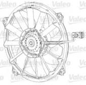 Valeo 696091 Вентилятор, охлаждение двигателя