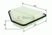 Bosch F 026 400 132 фильтр воздушный