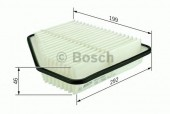 Bosch F 026 400 159 фильтр воздушный