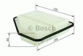Bosch F 026 400 161 фильтр воздушный