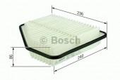 Bosch F 026 400 176 фильтр воздушный