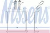 Nissens 76502 Радиатор отопителя Lanos 1,3 - 1,6