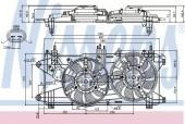 Nissens 85689 Вентилятор охлаждения двигателя