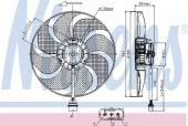 Nissens 85690 Вентилятор охлаждения двигателя