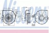 Nissens 87028 Вентилятор отопителя