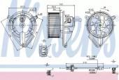 Nissens 87039 Вентилятор отопителя