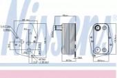 NISSENS 90618 Радиатор First Fit
