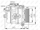 Nrf 32435 Компрессор кондиционера