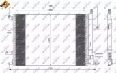 NRF 35739 Радиатор кондиционера EASY FIT